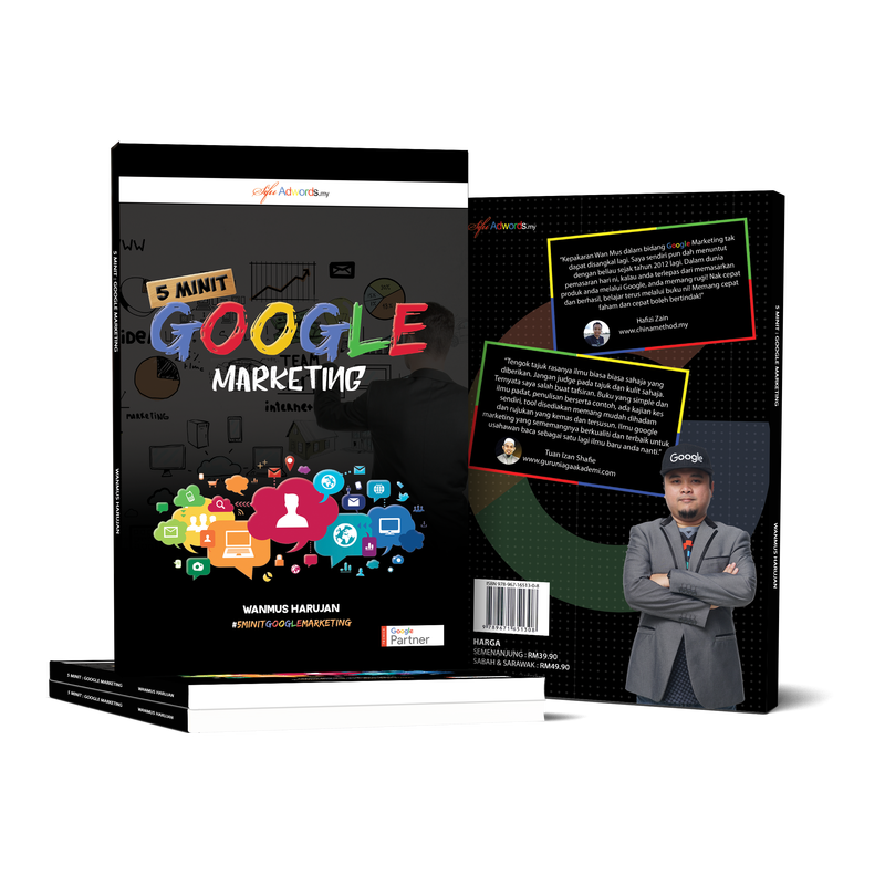Buku 5 Minit Google Marketing