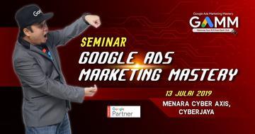 Seminar Google Ads Marketing Mastery (GAMM)