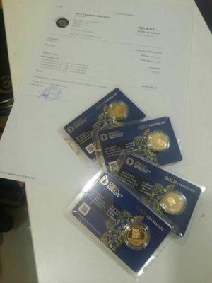 Pembelian ETPS DNC, Dinarcoin Dinar Dirham