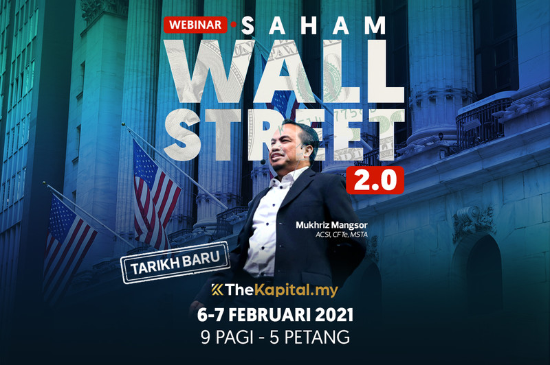 Webinar Saham Wall Street 2.0 bersama The Kapital