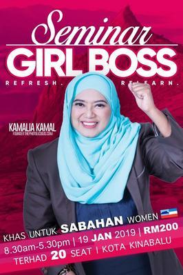 SEMINAR #GIRLBOSS SABAH