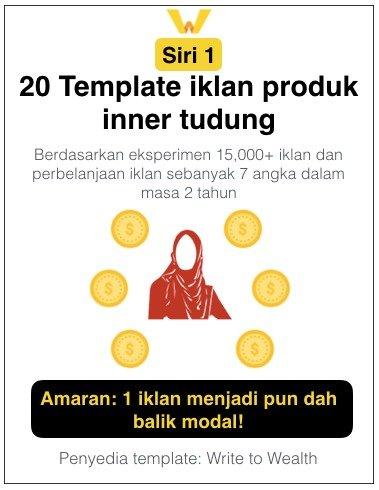 20 Template Iklan Produk Inner Tudung