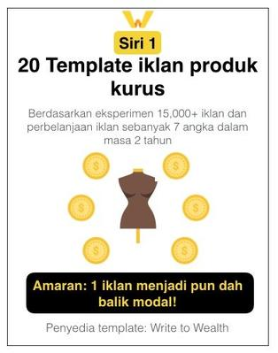 20 Template Iklan Produk Kurus