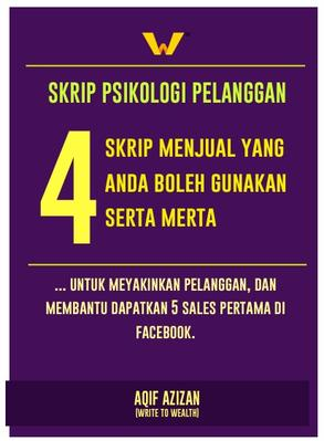 Ebook - 4 Skrip Jualan FB