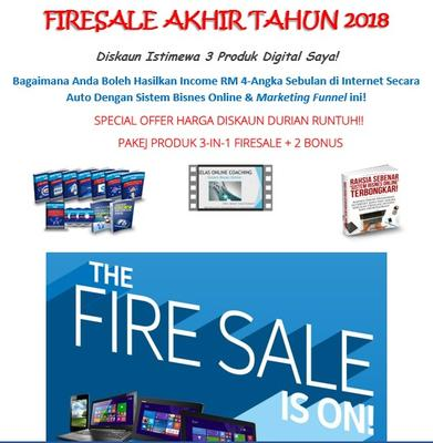 Firesale Akhir Tahun 2018